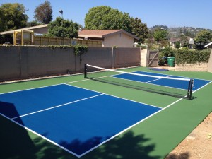 Pickleball Court Paint DIY