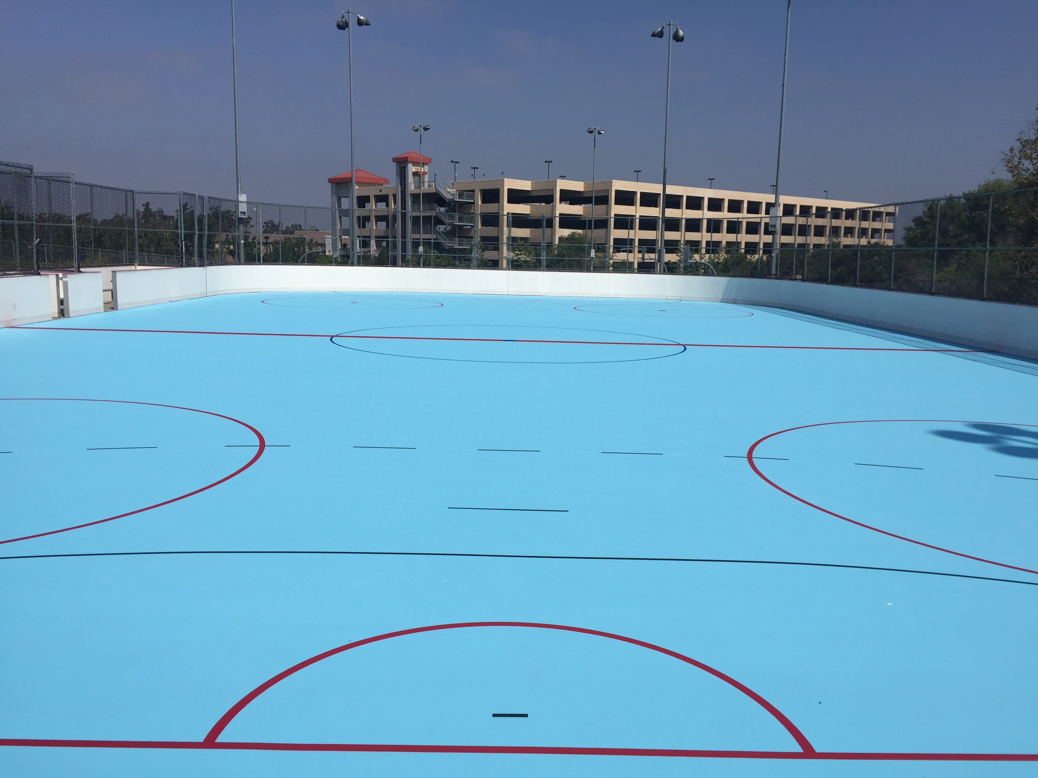 Roller Hockey Surfaces And Roller Sports - Backyard roller hockey rink