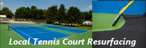 local tennis court resurfacing