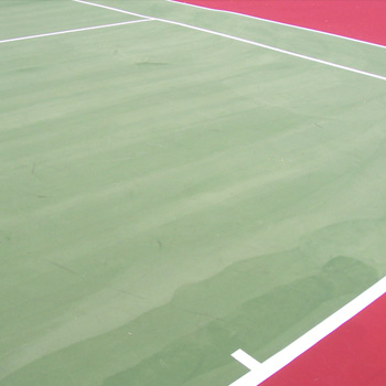 What Causes Streaking On A Tennis Court Surface