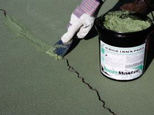 Tennis Court Crack Filler