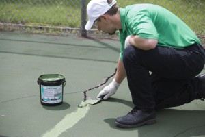 Flexible Crack Sealant for Tennis Courts