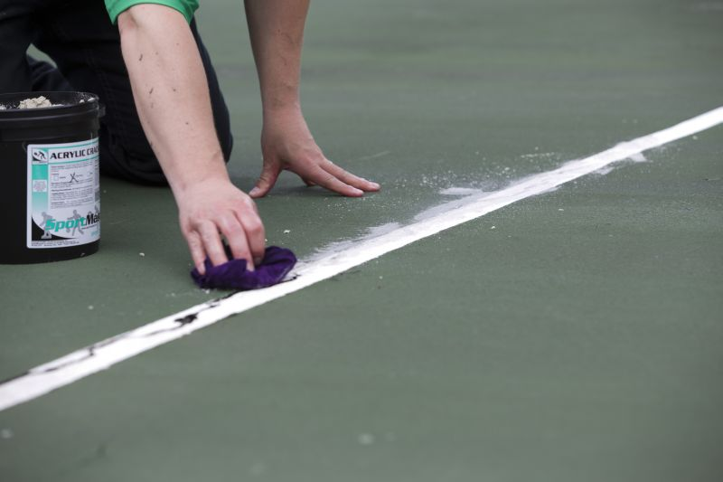 How To Fill Cracks On A Tennis Court Which Products