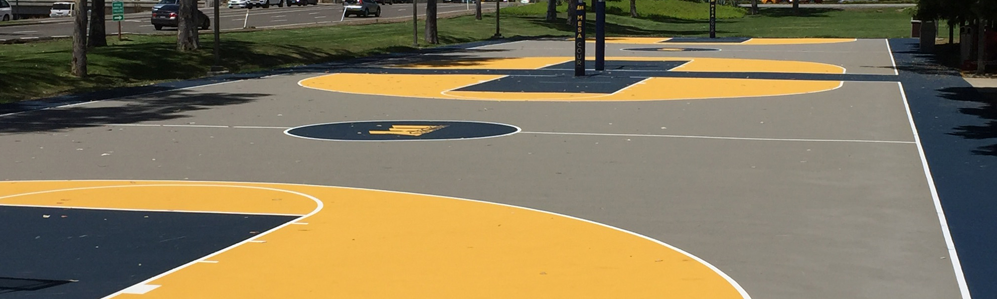 Tennis court resurfacing products and acrylic sport surfaces for Sport court paint