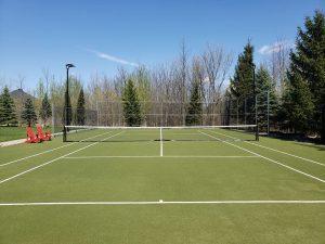 Grass Tennis Court Surface