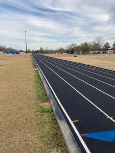 Latex Track Surface