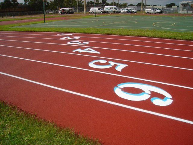 Running Track Surfaces Florida