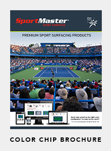 Click Here to download a PDF of the SportMaster Color Chip Brochure